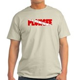 Plongee French Scuba Flag Light T-Shirt