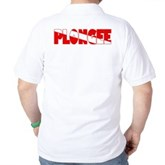Plongee French Scuba Flag Golf Shirt