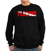 Plongee French Scuba Flag Sweatshirt (dark)