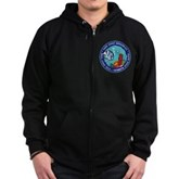 Take Only Memories (fish) Zip Hoodie (dark)