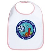 Take Only Memories (fish) Bib