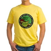 Take Only Memories (turtle) Yellow T-Shirt