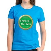 Certified Nitrox Diver Women's Dark T-Shirt