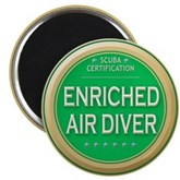 Certified Nitrox Diver Magnet
