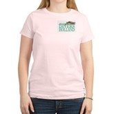 Zeeland Divers Holland Women's Pink T-Shirt