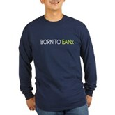 Born to EANx Nitrox Diver Long Sleeve Dark T-Shirt